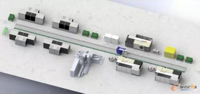 精密车床主轴加工生产线集成控制系统的应用