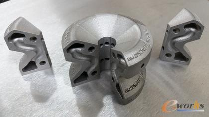 与传统直线冷却水路相比,金属3D打印随形冷却水路将温度变化降低了86%