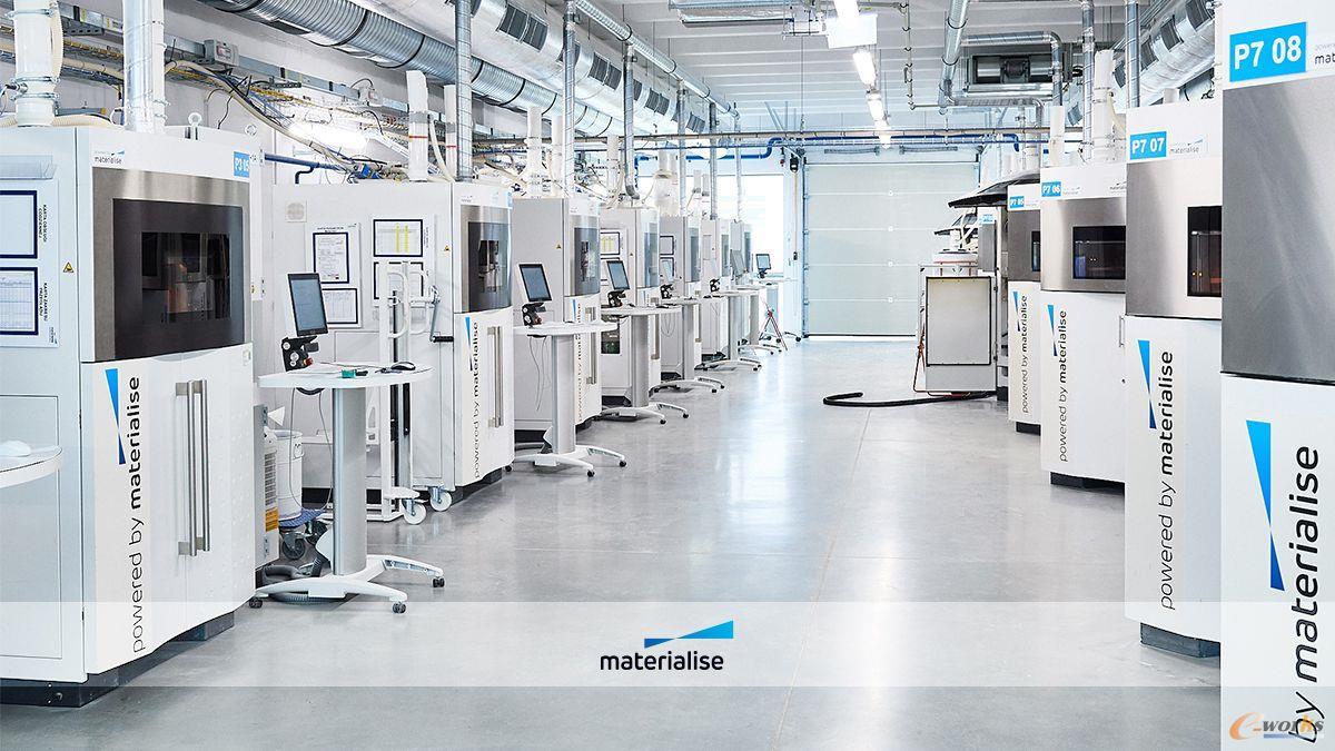 Materialise的增材制造工厂