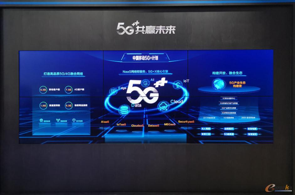 中国移动5G+计划