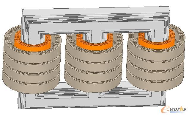 变压器短路模型