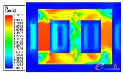 t=0s时刻磁感应强度分布