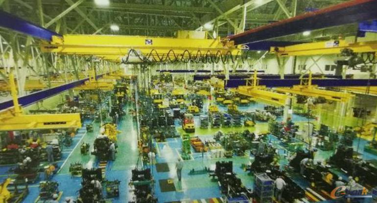 某工程机械行业企业工厂生产现场