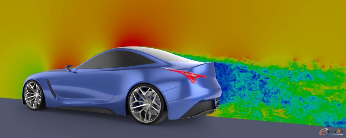 汽车虚拟风洞模型