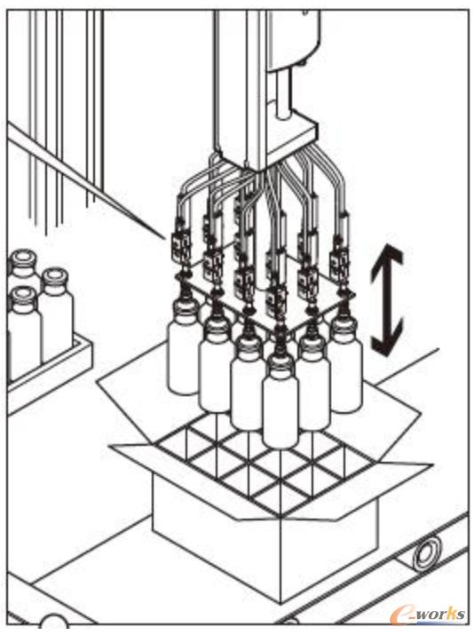 可通过压力或真空传感器实现存在控制