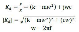 动力学计算公式