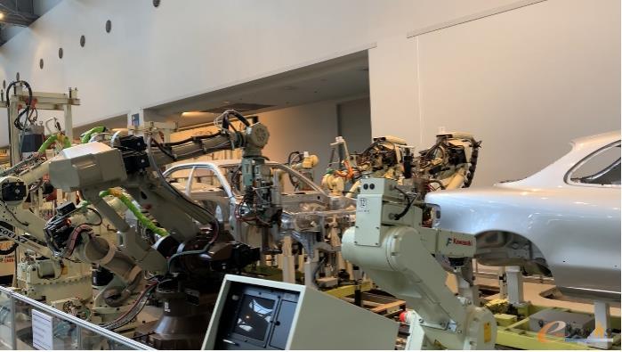 参观丰田产业技术纪念馆