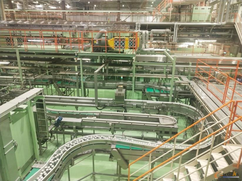 立体化的生产线