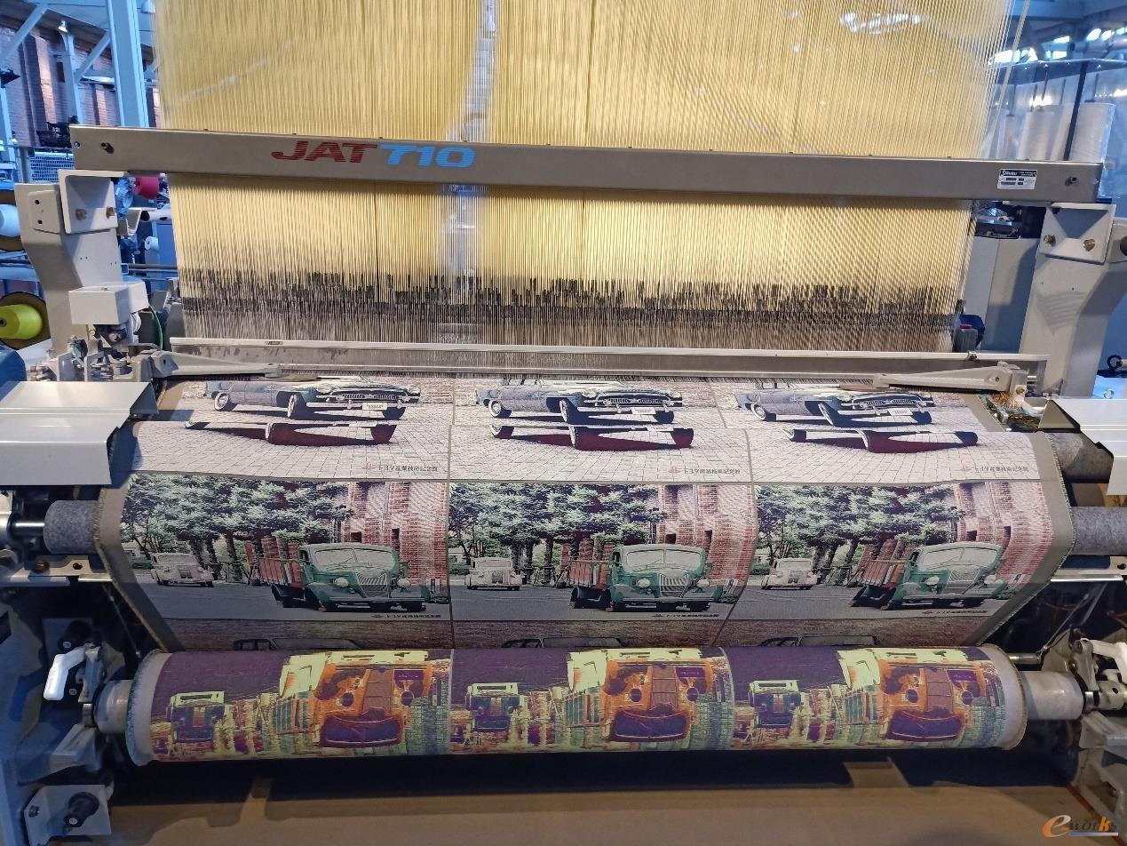 喷气式纺织机