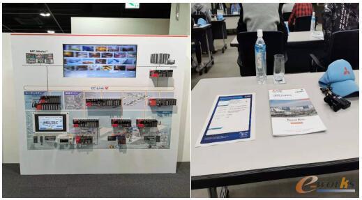 参观三菱电机公司