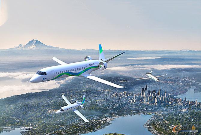 借助仿真技术研发电动飞机