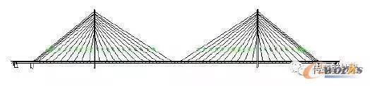 永和大桥的结构图