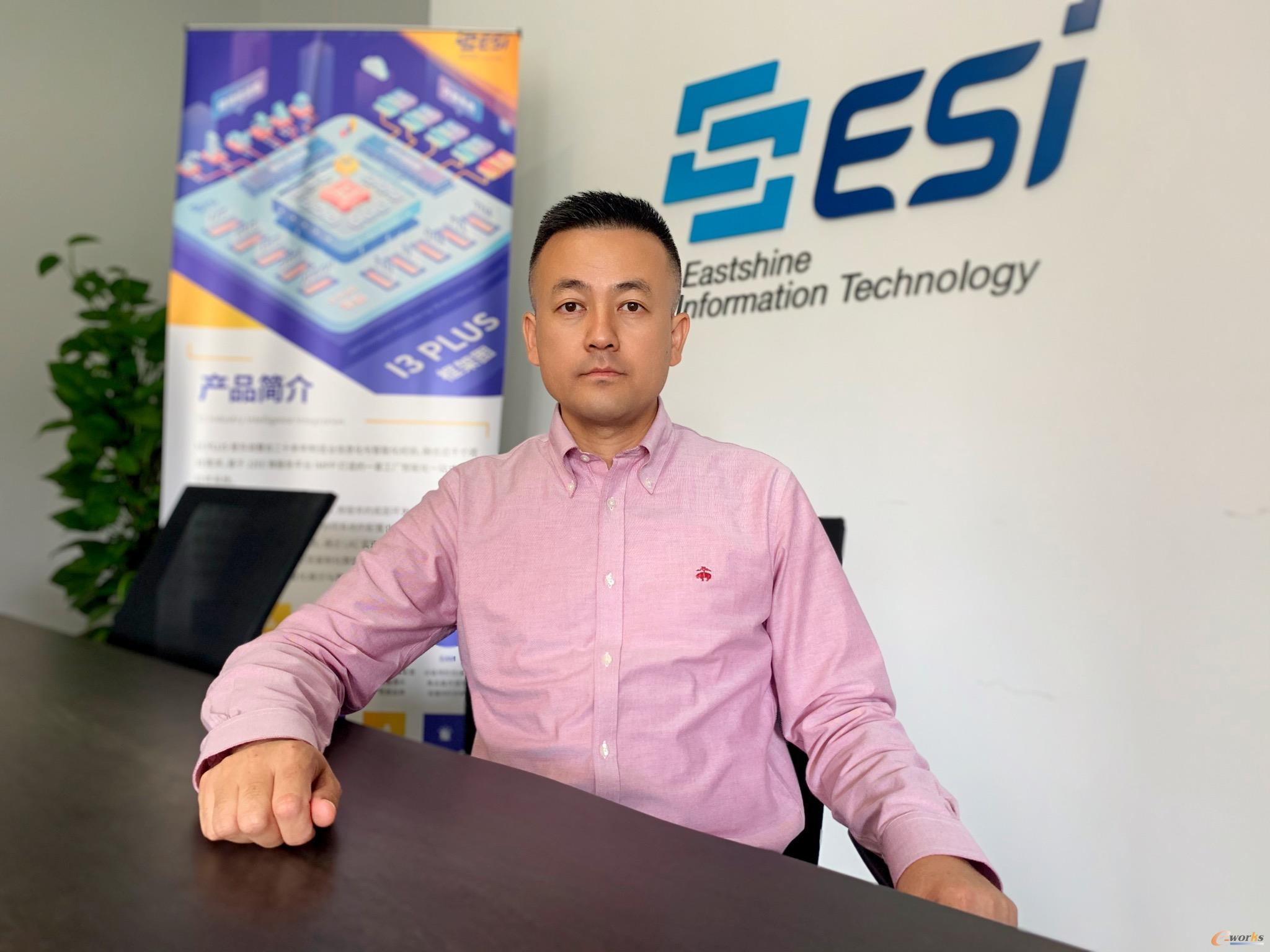 上海东尚信息科技股份有限公司董事长/总经理蒋振山
