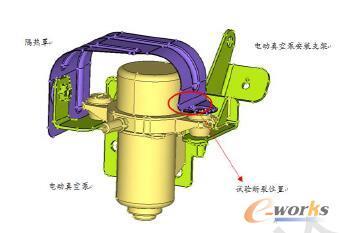 电动真空泵隔热罩模型介绍