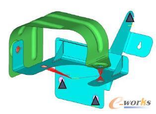 电动真空泵隔热罩有限元建模