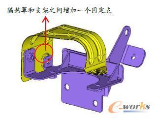 电动真空泵隔热罩优化方案二