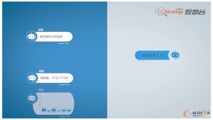 观数台机器人-观哥为企业提供对话式分析功能