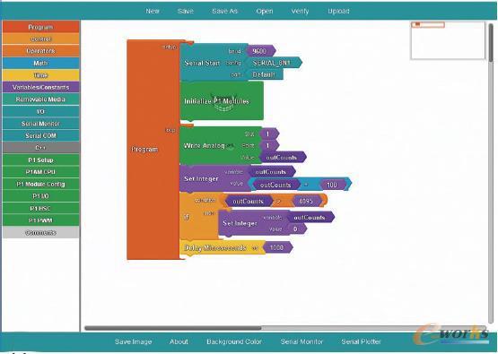 新增的图形编程软件,为最终用户提供了另一种可访问的方式,可以将开源Arduino微控制器功能集成到他们的工业项目中