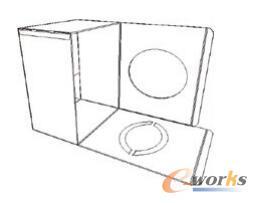 外箱结构成型图