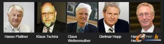 SAP公司的五位创始人