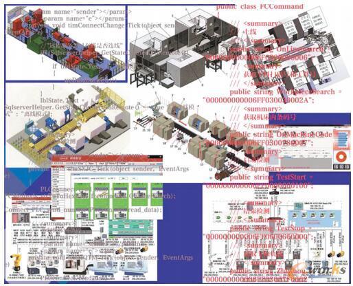 基于MES对接的工业现场海量数据提取系统示意
