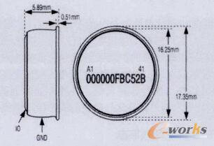 温度传感器外形尺寸图