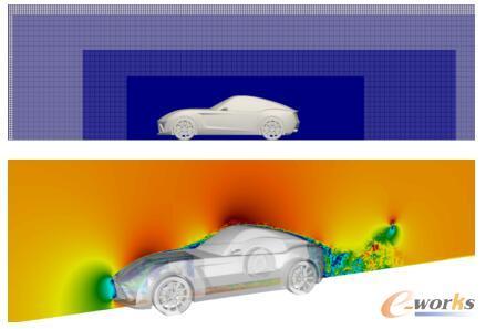 流体单元约3600万的通用跑车模型
