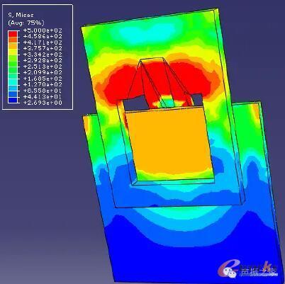 轻型装配式钢结构插接式节点接触分析
