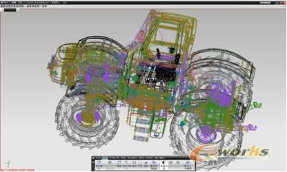 在nx中,可以直接对模型的剖面结构进行预览,这样也方面的设计师对