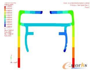 作用铝型材模具设计过程中HyperXtrude的工业hlps材料模具设计图片