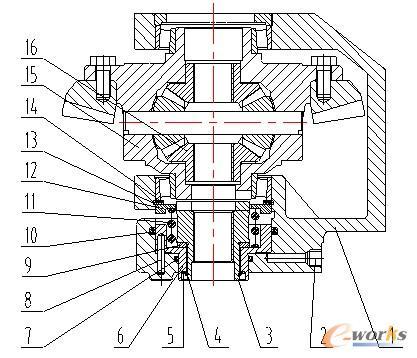 拖拉机液压差速锁结构图