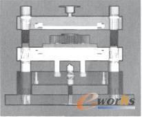 基于Pro/E的工业用文萃摘要三维模具设计-论文极简风家装设计齿轮低速图片