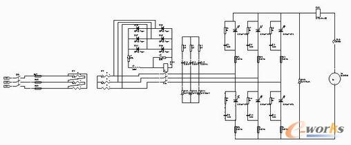 主电路及保护电路原理图