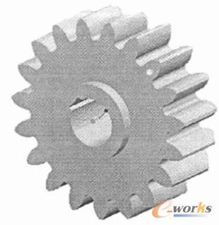 证了渐开线齿廊的正确形状,又使齿轮的尺寸可以根据参数的输入或改