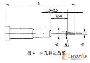 先进工艺冲孔翻边薄板v先进及模具设计_小孔制实例电路设计图片
