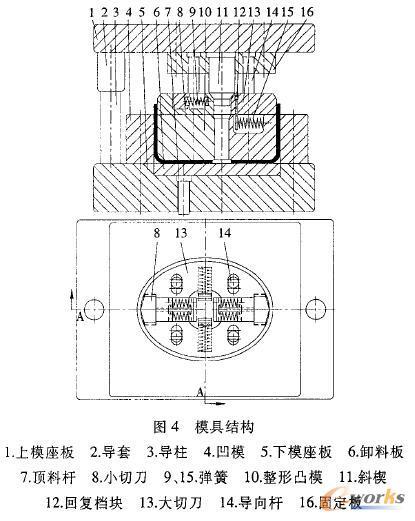 椭圆形装饰盖工艺分析及模具设计