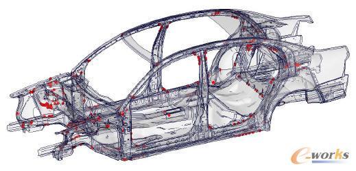 汽车 有限元分析 实例 ug有限元分析 实例 proe高清图片