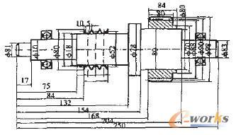 图3 轴装配示意图-轴零件自动装配中的尺寸驱动方法研究