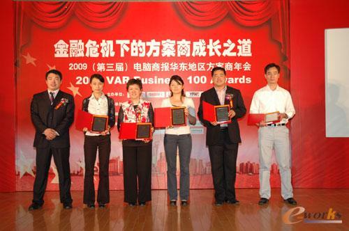 新锐邦际荣膺2008华东医药化工行业十大优越计划
