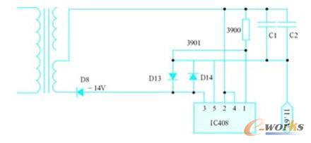 串入并出接口电路程序流程图