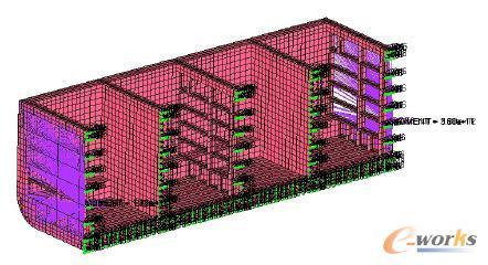 1 概述     船舶中剖面的结构形式和构件尺寸集中反映了整个船体结构