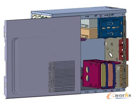 abaqus在台式机箱整机振动分析中的应用