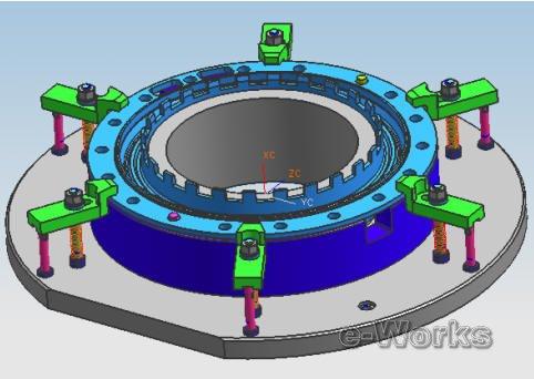 ug软件在航空发动机零件工装设计中的应用_cad_产品化