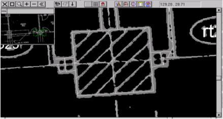 gtx自动矢量化方法把光栅图自动变换为cad实体
