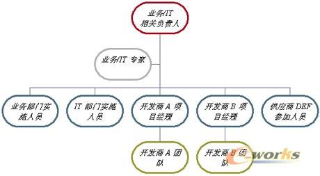 企业解决方案项目管理的组织机构及其职责