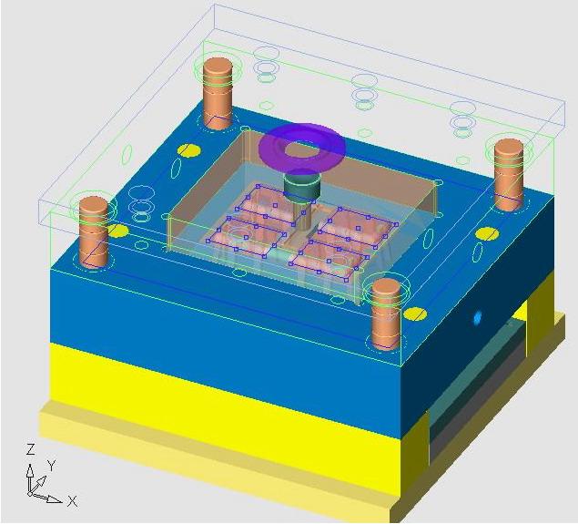 CimatronE在MOTO手机电池版权模具设计的应不那些v版权后盖文字涉及ui图片