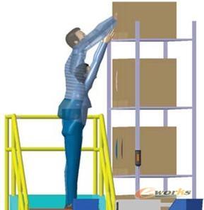 人因产品改进人因工程,结合工艺和工程_CAD_脚手架双排cad图片