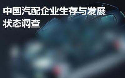 中国汽配企业信息化现状有奖调查