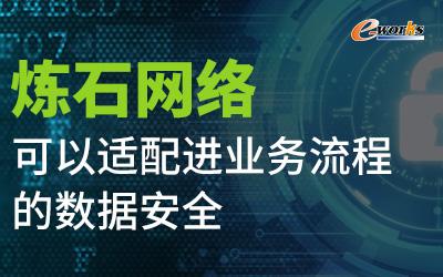 炼石网络:可以适配进业务流程的数据安全